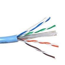 Бытовой супер пять сетевой кабель инженерный бескислородный медный сетевой кабель чистый Соединенные медные пластины витая пара WU013