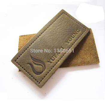 (pu patch ,small size pu label,PU badge,leather patch ,leather badge