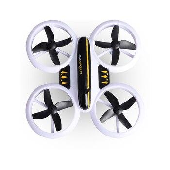 Mini Quad Drone | 2019 Nouveau Mini Drones RC Coloré Altitude Tenir 3D Flip Lumière LED Mode Sans Tête Quad Copter Jouets Cadeaux De Noël