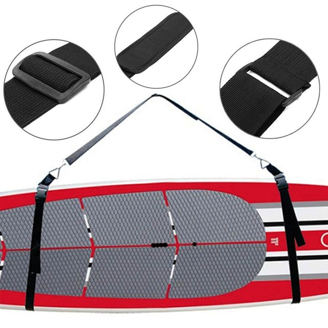 Surfboard Shoulder Strap Adjustable Carry Sling Stand Up Surfing Surf Paddle Board Carrier WHShopping