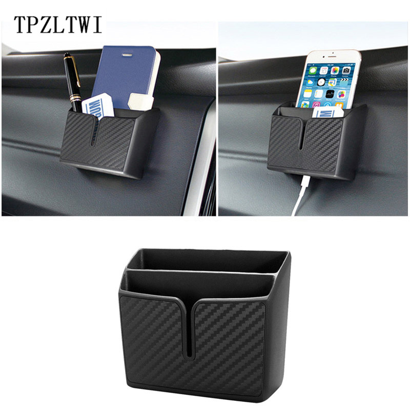 TPZLTWI Car-Styling Storage Bag For Fiat 500 Punto Bravo Stilo Ducato Linea Doblo Palio Panda Uno Albea Croma Idea Marea Coupe for fiat punto fiat 500 stilo panda small hole ventilate wear resistance pu leather front