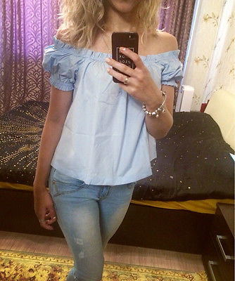Womens Sexy Off Shoulder Vest Tank Summer Blouse Lady Casual Tops Loose Shirt