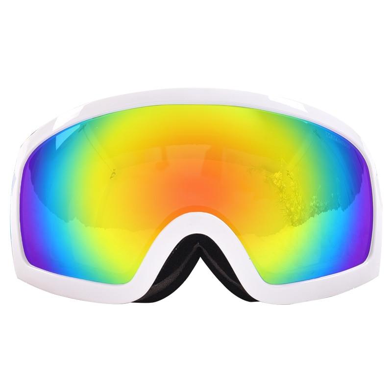 Lunettes de Ski Super COOL lentilles Doubles lunettes de Snowboard professionnelles hiver UV400 Anti-buée traîneau motoneige lunettes coupe-vent