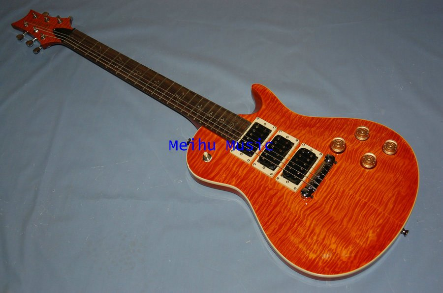 Aliexpress.com : Buy PRS Electric Guitar Yellow Color 3 pickups ...