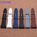 Qualidade Silicone faixa de Relógio 29mm Substituição Cinta faixas De Relógio de Silicone interface Especial Pulseira Para Homens