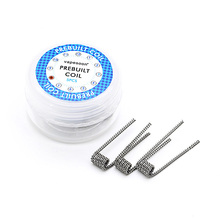 5pcs/pack newest vapesoon Half staggered coil premade coil for e cigarette rda fast shipping