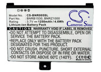 Cameron Sino 1250mAh Battery BNRB1530  BNRB454261  BNRZ1000 for Barnes & Noble 005  BNRV100  BNRZ100  nook  NOOK Classic Digital Batteries     -
