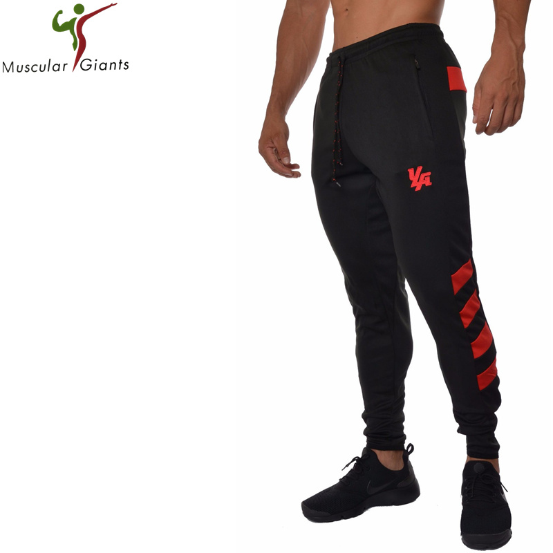 2018 High Quality Brand Clothing Jogger Pants Men Fitness Bodybuilding Pants For Runners Autumn Sweat Trousers Britches