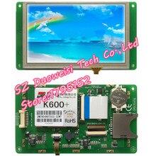 Стартовый комплект DMT80480T050_02WT T серии DGUS с сенсорным экраном, полный комплект с экраном, такой же, как и на фото