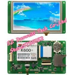 DMT80480T050_02WT T serie DGUS touch screen Starter Kit MODULE SCREEN volledige kit hetzelfde als foto