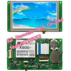 DMT80480T050_02WT T series DGUS touch screen Starter Kit MODULE SCREEN  full kit same as  photo