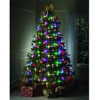 64LED RGB Christmas Tree Decoration String Light Led Lights Decoration For Home Christmas Indoor Rattan Ball Lights String Light