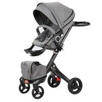 Para Bebe коляски для детей большой Детские коляски детские вещи свет малыша коляски для новорожденных коляска трицикл