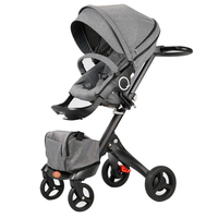 Para Bebe Strollers For Children Big Baby Stroller Baby Things Kid Light Prams For Newborns Baby Buggy Pushchair Tricycle