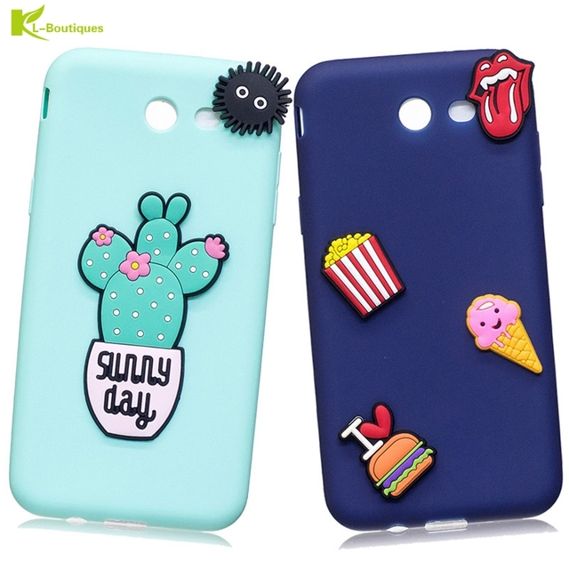 official photos 7a417 8a56e US $3.27 16% OFF|Silicone Candy Color Cover Cactus Unicorn DIY Phone Cases  for Samsung Galaxy S8 S9 Plus S7edge J7 J5 J3 A5 A3 2017 2018 J5 Prime-in  ...