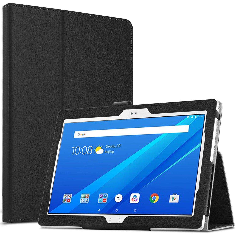 Для Lenovo Tab 4 10.0 Plus 2017 версия Дело Фолио ПУ кожа смарт-чехол для Lenovo Tab 4 10 защитный чехол кожа ...