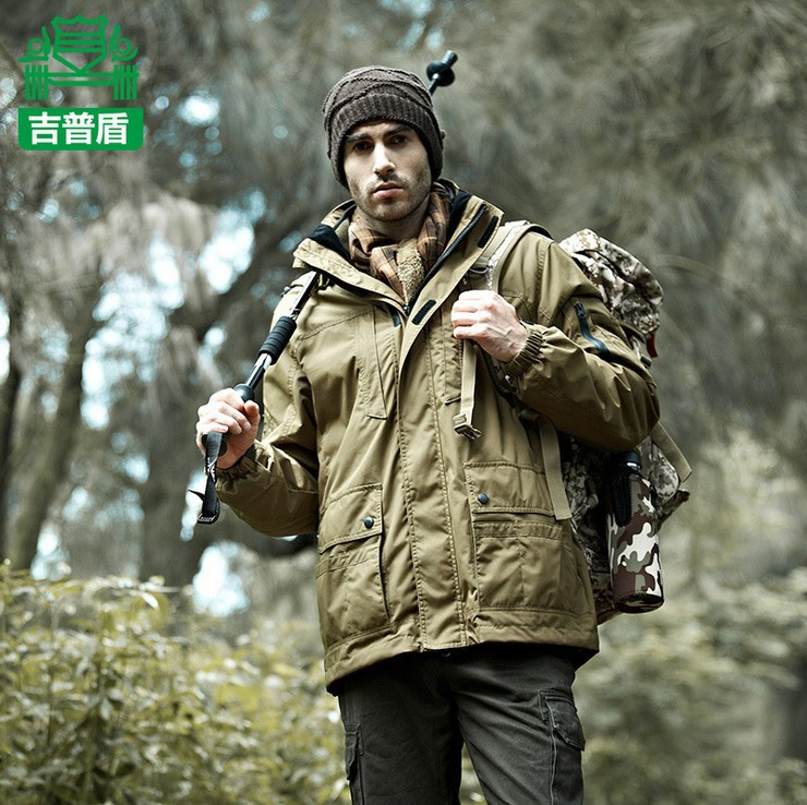 100% TOP Quality Stylish Outdoor Travel Jackets Hoody Men's Winter ...