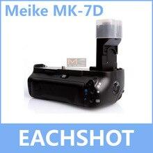 MeiKe MK-7D, BG-E7 Батарейная ручка для цифровой однообъективной зеркальной камеры Canon EOS 7D LP-E6 заменить BG-E7
