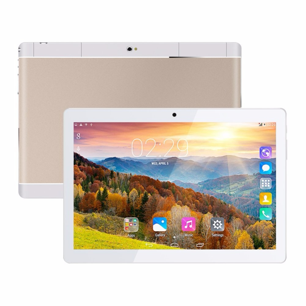 10 1 inch Tablet Android 6 0 Unlocked 3G Phone Tablet PC MTK 8752Octa Core IPS