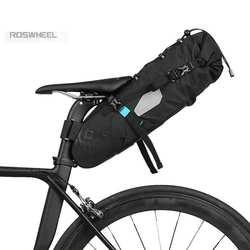 ROSWHEEL ataku 2017 najnowszy 10L 100% wodoodporna torba na rower akcesoria rowerowe torba na siodło jazda na rowerze rower górski tylne siedzenie torba tylna