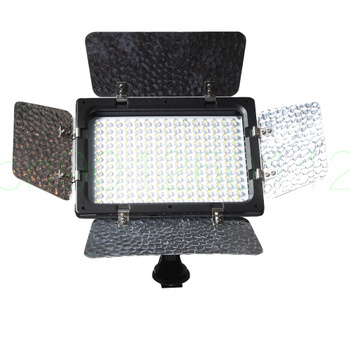 W300 Video Light Photography Lighting Lamp Panel 300 LEDs Camera Light for Canon Nikon Pentax Sony (Alpha) DSLR Camera