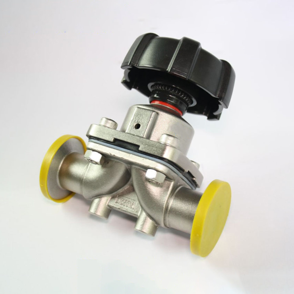 Fit 3/4 19mm Pipe OD x 1.5 Tri Clamp Sanitary Diaphragm Valve SUS 316L Stainless Steel For Homebrew Beer BrewingFit 3/4 19mm Pipe OD x 1.5 Tri Clamp Sanitary Diaphragm Valve SUS 316L Stainless Steel For Homebrew Beer Brewing