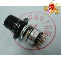 VK 10PCS LOT Imported Japanese NKK Band Switch Rotating Stall Switch MR K112 Electronic Handwheel