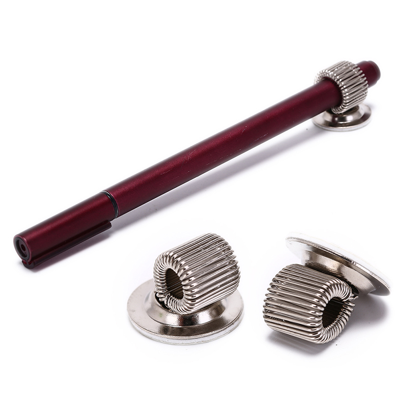 Peerless 1pcs Single Hole Metal Pen Holder Creative 32*12mm With Pocket Clip Doctors Nurse Uniform Pen Holders 32*12mm Desk Accessories & Organizer