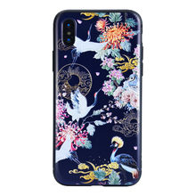 Funda de silicona para iPhone XR 6,1 pulgadas creativo Scrub 3D pintado batas en relieve funda de teléfono para iPhone XR 6,1 pulgadas # y4(China)
