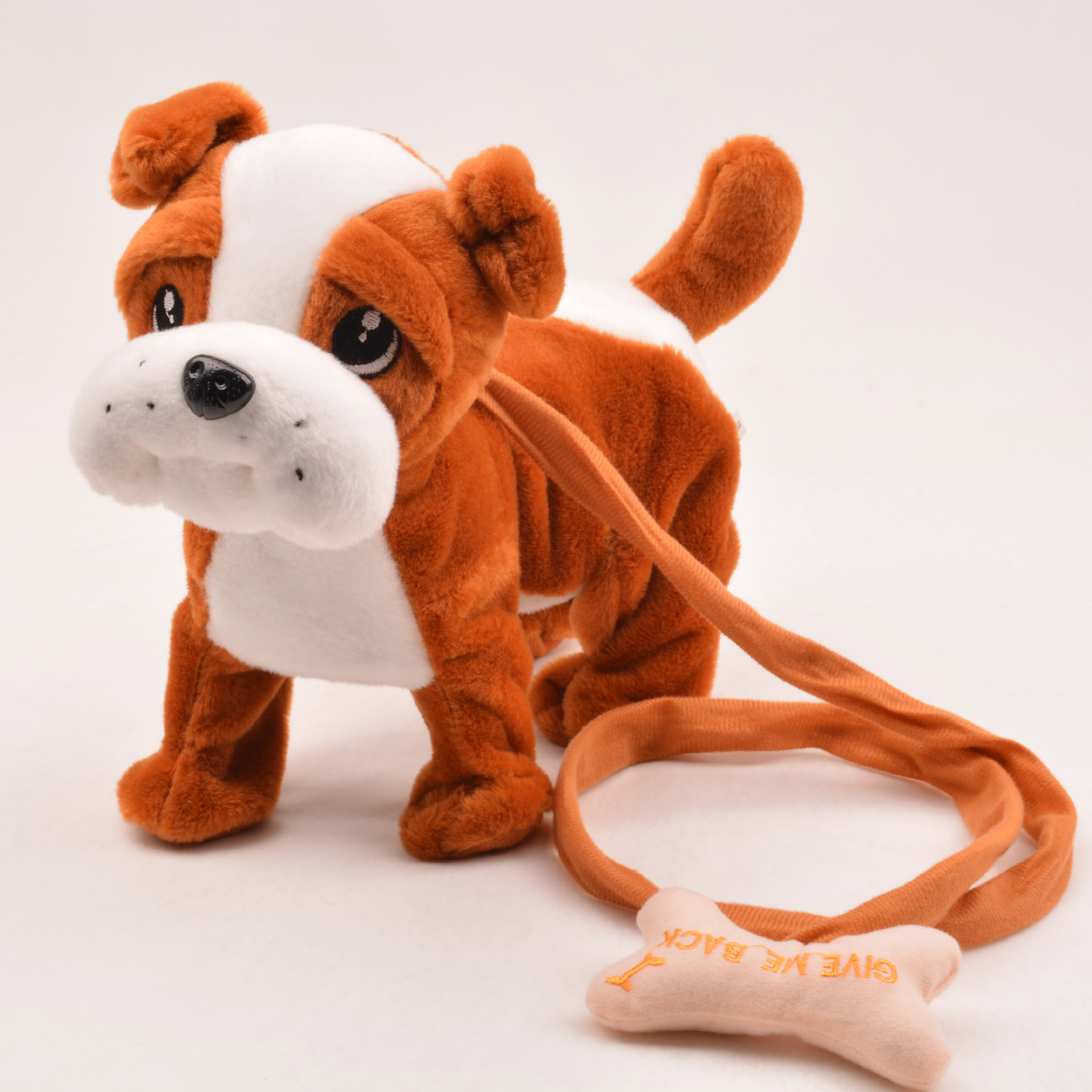 Electronic plush pet dog for Children Walking Electronic Leash