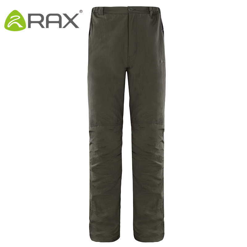 Rax Anti-uv Outdoor Quick Dry Pants Men Women Softech Softshell Traverse Waterproof Windproof Pants Men Softshell Hiking Pants