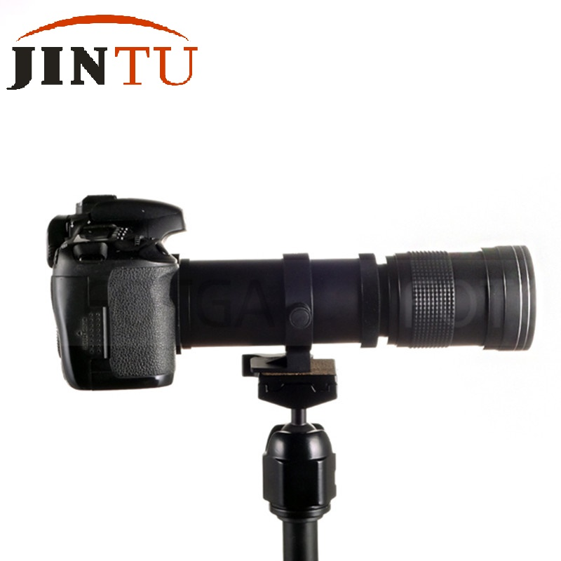 цены JINTU 420-800mm F/8.3-16 Telephoto Zoom Lens for Micro M4/3 Four Thirds MFT Camera OMD EP DMC-GH4 DMC-G7 E-PL8 GX80 DMC-GX85