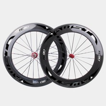 carbon AWST 88mm Clincher wheels 23mm width Glossy/Matte road bike wheel 38 50 60 88mm carbon wheelset high quality DIY OEM