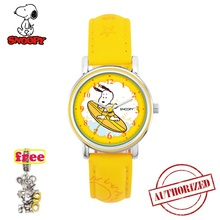Top brand SNOOPY official genuine boys girls kids Watch Waterproof cartoon surfing cute clock japan quartz Relogio Faminino 764