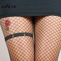 2014 новый сексуальный черный спандекс ноги подвязку модный круговой проводов для женщин