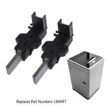 2Pcs/set Washing Machine Motor Carbon Brushes L94MF7 With Housing For Whirlpool 1 pair useful washing machine motor carbon insert brushes l94mf7 for whirlpool