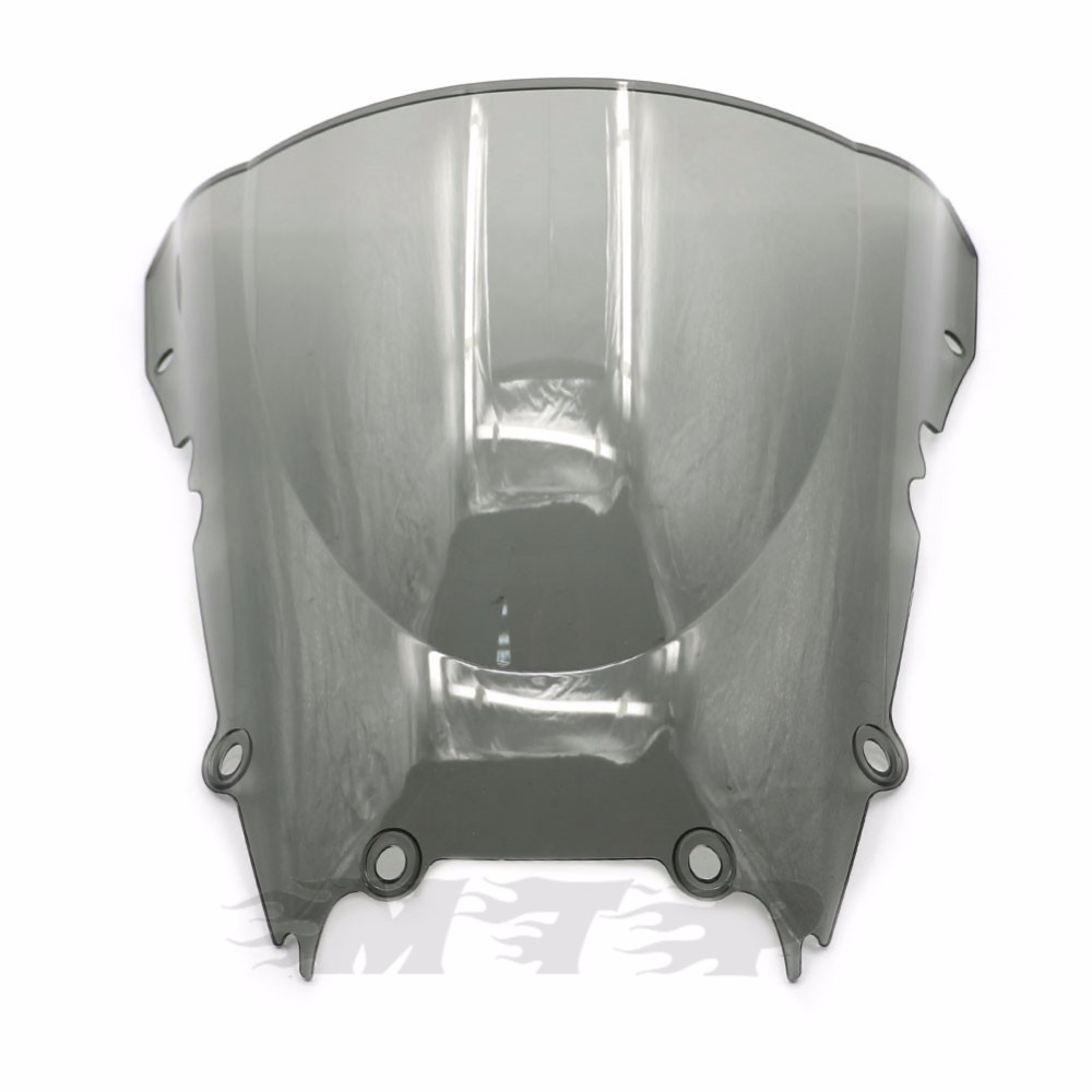 MPW Double Bubble Clear Windshield Screen for Yamaha YZF-R6 98-02