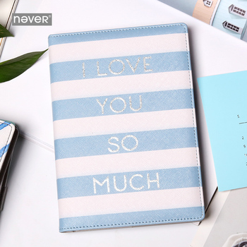 Stationery Geometry Series A5 Notebook PU cover Note book Diy Blank Page Fixed Page Handbook Kawaii Notebook Cute Notebook for asus notebook motherboard b53e b53e s model 100 page 2 page 4