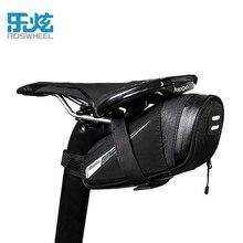 ROSWHEEL Bicycle Saddle Bag Rainproof  Nylon Bike Bags Cycling Ring Equipment Storage Organizer Bag Light Rainproof For Bicycle