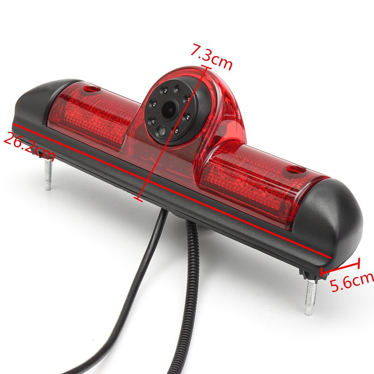 Podofo беспроводная камера заднего вида и ИК ночного видения 7 автомобильный монитор Комплект для грузовика автобуса каравана прицепа обратн... - 6
