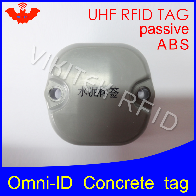 UHF RFID Concrete tag omni-ID metal 915mhz 868mhz Impinj Monza4QT EPCC1G2 6C durable ABS smart card passive RFID beton tags lone wolf and cub omni vol 6