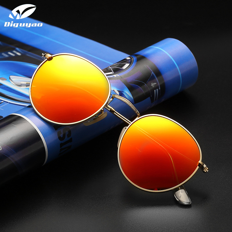 2019 Fashion Women Luxury Metal frame Sunglasses Polarized sun glasses Driving Mirror brand designer Female Eyewear