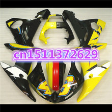 Fairing 2003 2005 Bodywork ABS for YZF R6 2003/2004/2005/.. Yellow Black Yzfr6/600/03-05/Fairing-kit-dor-d