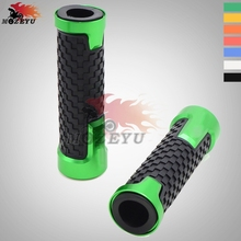 For Kawasaki Z750 Z 750 z750 CNC Aluminum Rubber motorcycle handlebar grips handle bar grip