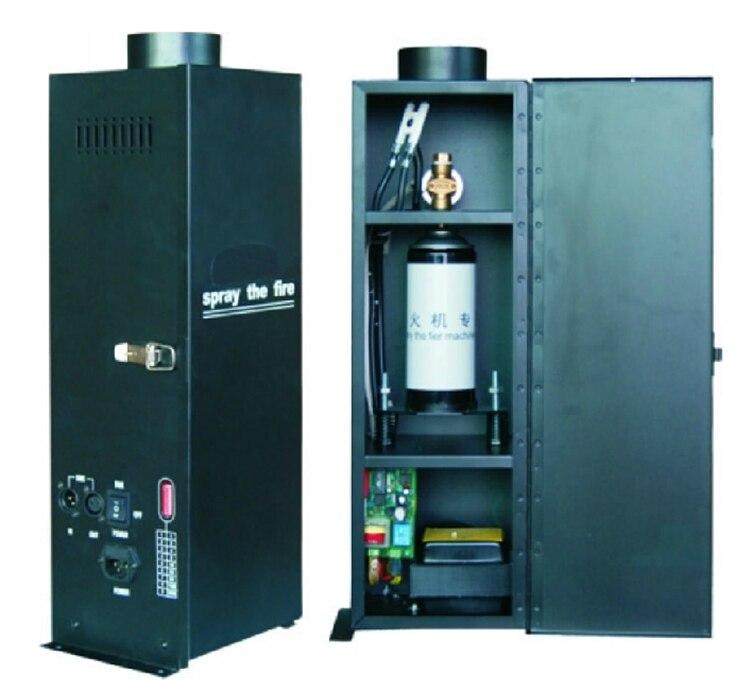 Vente chaude 200W DMX effet de pulvérisation de feu lance-flammes DJ scène projecteur Machine partie