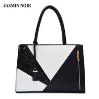 Women Leather Handbag Female Luxury Serpentine PU Bag Over Shoulder Brand Designer Large A4 Briefcase Tote