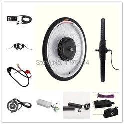 Darmowa dostawa! Wyświetlacz LED 48v1000w do konwersji roweru elektrycznego front kit  e-zestaw rowerowy do 20
