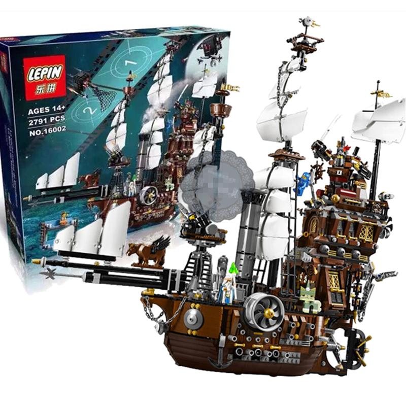 MetalBeard's Sea Cow Set Emmet Wyldstyle Vitruvius Building Blocks Bricks Toy Lepin Movie 70810 16002 lepin 16002 22001 16042 pirate ship metal beard s sea cow model building kits blocks bricks toys compatible with 70810