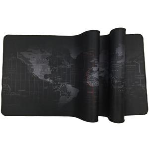 Image 3 - Ekstra büyük Mouse Pad eski dünya haritası oyun Mousepad kaymaz doğal kauçuk oyun fare Mat ile kilitleme kenar