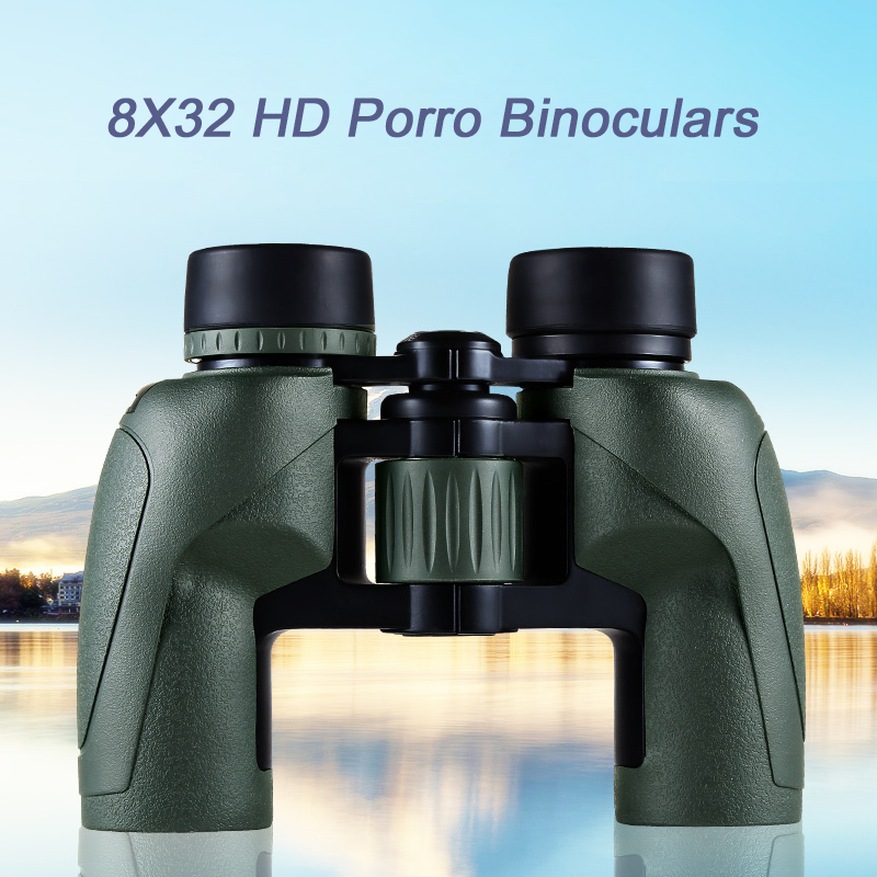 Eyeskey 8x32 Binoculars Porro Waterproof Binoculars Camping Hunting Scopes Powerful Binoculars Telescope With Bak4 Prism Optics bijia 20x nitrogen waterproof binoculars 20x50 portable alloy body telescope with top prism for traveling hunting camping